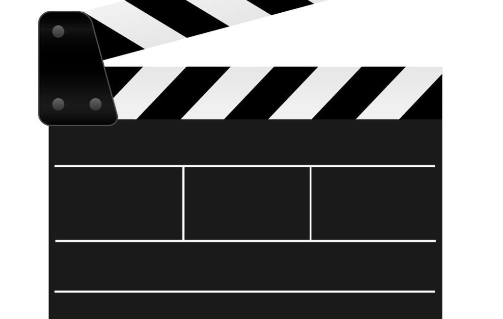 Filmklappe geffnet und leer